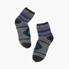 holiday gift pick: madewell fair isle ankle socks. #giftwell