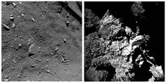 16 organische Moleküle auf Rosetta-Kometen Churyumov-Gerasimenko entdeckt . . . http://www.grenzwissenschaft-aktuell.de/organische-molekuele-auf-rosetta-kometen20150731 . . . Abb.: ESA/Rosetta/Philae/ROLIS/DLR