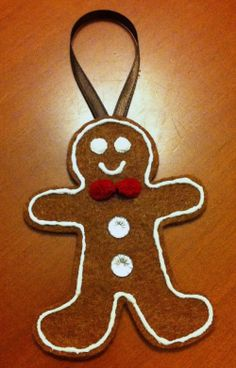 gingerbread Christmas ornament