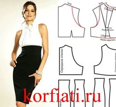 Vzor letní šaty z úpletu z Anastasia Korfiati