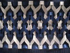 Everlyn - Artesanatos: Toalhas Bordadas - Trançado de Fita