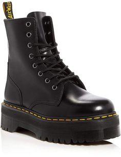 Shop for Women's Jadon Platform Combat Boots by Dr. Martens at ShopStyle. Dr. Martens, Dr Martens Boots, Dr Martens Jadon, Black Platform Boots, High Heel Boots, Heeled Boots, Shoe Boots, Black Army Boots, Black Leather Boots
