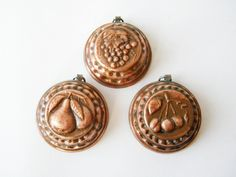 Copper molds=classiic charm