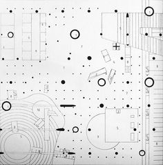 Agadir // OMA // Diagramatic Plan Oma Architecture, Architecture Graphics, Architecture Drawings, Architecture Diagrams, Bts Design Graphique, Henna Drawings, Rem Koolhaas, Presentation Layout, Architectural Presentation