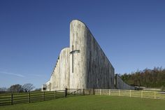 Stanbrook Abbey: a curvilinear church extends Feilden Clegg Bradley Studios' monastery in the Vale of York Photo: Tim Crocker Sacred Architecture, Architecture Today, British Architecture, Religious Architecture, Amazing Architecture, Architecture Details, Modern Architecture, West Yorkshire, Yorkshire England