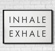 Black And White Picture Wall, Black And White Pictures, Bedroom Wall Collage, Gym Decor, Inhale Exhale, Black And White Aesthetic, Scandinavian Art, International Paper Sizes, Quote Aesthetic