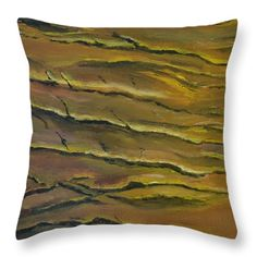 All Throw Pillows - Cracked Earth  Throw Pillow by Rauno  Joks