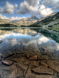 Muratovo lake, Pirin Mountain, Bulgaria