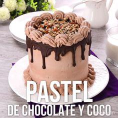 Video de Pastel de Chocolate con Coco