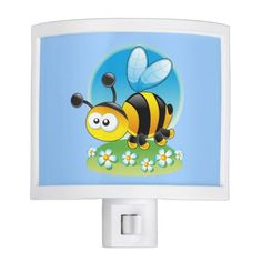 Cute cartoon bug Night Light