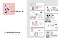 Bilbao - Keynote Template + Bonus by PixaSquare on @creativemarket