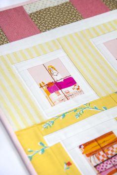 Notting Hill House Mini Quilt - Transient Art