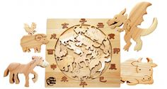 Chinese Zodiac by Straw Farm Japan. Perfect way to show my nonexistent-future-kid the zodiac system that is more important in an Asian's life. :-P Maybe it's just an excuse for me to own such quality toy! (¥12.600; Approximately $157.50)
