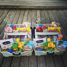 56 non candy easter basket ideas for kids teen gifts basket ideas give them something special with a personalized easter basket negle Choice Image