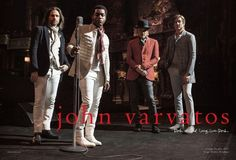 Video Premiere: Vintage Trouble Soundchecks 'Knock Me Out' as New Face of Fashion House Varvatos  John Varvatos has tapped the L.A.-based rhythm & blues band Vintage Trouble to appear in his much celebrated music campaign series bringing their foot-stomping rhythm and infectiously irrepressible mood to electrify the new Spring Campaign in a video featuring their upcoming song ?Knock Me Out.? For more than a decade Varvatos has collaborated with talented musicians and photographer Danny…