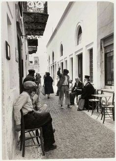 Fira Santorini 1948 Greece
