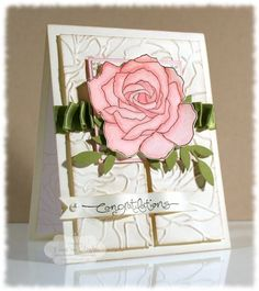 Fifth Avenue Floral - Renee Van Stralen.  I love this stamp set & was sorry to see it retire.