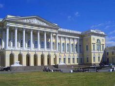 St. Petersburg, Russia: The Mikhailovsky Palace was built for Grand Duke Mikhail Pavlovich; finished in 1825, it is now a museum.