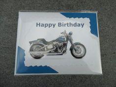 House of Harley-Davidson Milwaukee birthday cards | Birthday Blank Greeting Card - Harley Davidson | CardsByElisa - Cards ...