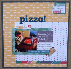 Layout: Pizza!