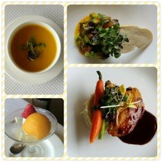Example of a Four Course Dinner @ La Concha Resort in Puerto Rico!