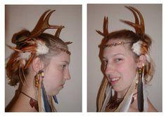 Druid Antlers by ~fiannaValkyrie on deviantART
