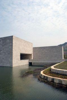 Liangzhu Culture Museum, Hangzou, China by David Chipperfield Architect