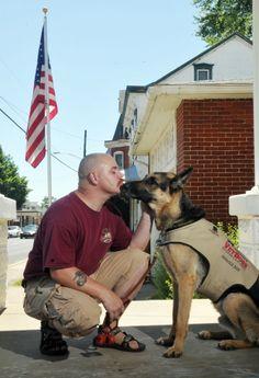 Iraq veteran, his service dog best of friends