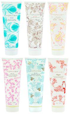 Lollia packaging- so beautiful!
