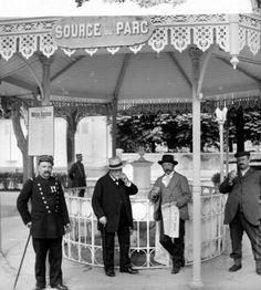 Source du parc. Vichy (Allier), vers 1900.
