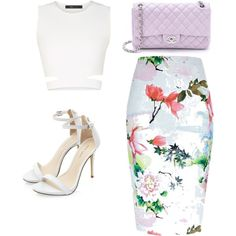 style by americanescapestyle on Polyvore featuring güzellik, What Goes Around Comes Around, BCBGMAXAZRIA and River Island