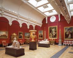 The Nash Gallery at Buckingham Palace - The Royal Collection copyright 2009 Her Majesty Queen Elizabeth II