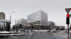 Savanoriu offices proposal, Vilnius Lithuania. by Francisco JG Tirado…