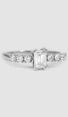 Posie Diamond Ring White Gold