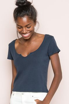 Brandy ♥ Melville    Monet Top - Tees - Tops - Clothing
