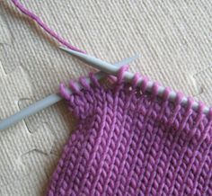 Short Rows for completely invisible shaping from Coco Knits