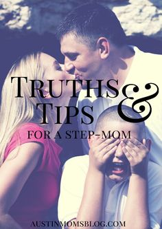 Have you found yourself in the position of being a step-mom? Today we have some truths and tips for step-moms BY a step-mom.
