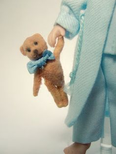Tutorial: How to Make a Flocked Teddy Bear