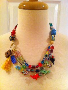 fun, vibrant necklace!