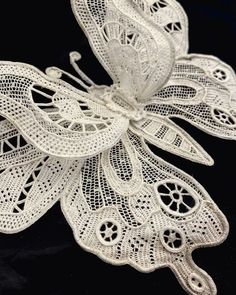 Crochet Flower Patterns, Tatting Patterns, Crochet Art, Lace Patterns, Irish Crochet, Crochet Flowers, Needle Lace, Bobbin Lace, Folk Embroidery