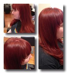 Cinnamon  red hair don't care!! Hair art by Denise!! In Love <3333!! @ Raw Hair Studio