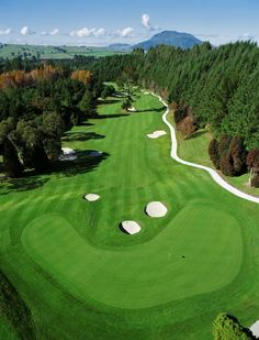 Wairakei International Golf Course, Taupo, New Zealand ♠  re-pinned by  http://www.countryclubsinflorida.com/