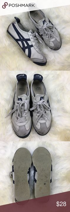 Asics Onitsuka Tiger Shoes Sz 6.5 Asics Onitsuka Tiger Shoes Sz 6.5. Pre-owned with visible wear. Soles have some wear, particularly on the heels. Bundle three or more items and save 15% off! Asics Shoes Athletic Shoes