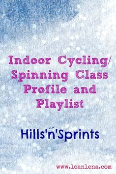 spinning class routine More