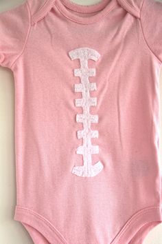 This will so be my girl! This would be so absolutely cute with baseball stitches