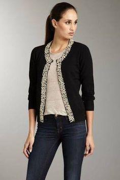 Resultado de imagen para bordado de blusas con perlas y tachas