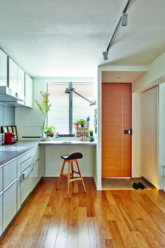 10 small-space open-concept kitchen designs 1
