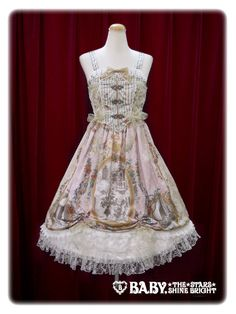 Baby, the stars shine bright Sonnet for Juliet~ Love potion with Romantic Irony~ Corset jumper skirt