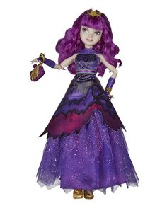 Disney Descendants Royal Yacht Ball Mal Isle of the Lost - Most Wanted Christmas Toys The Descendants, Disney Descendants Dolls, Disney Dolls, Isle Of The Lost, Decendants, Shopping World, Purple Dress, Girl Dolls, American Girl