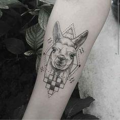 Llama - Emrah Ozhan @emrahozhan - Instanbul, Turkey #tattoo #tattooartist…